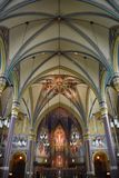 Cathedral of the Madeleine in Salt Lake City. Utah Stock Image