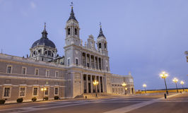 Cathedral Madrid Royalty Free Stock Photo