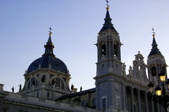 Cathedral, Madrid Stock Image