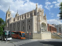 Cathedral in Madrid. Cathedral, church, Madrid, history, religion Royalty Free Stock Photography