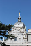 Cathedral of madrid, detail Royalty Free Stock Images