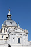 Cathedral of madrid, detail Royalty Free Stock Photo