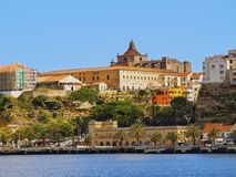 Cathedral in Mahon on Minorca Royalty Free Stock Photos