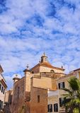 Cathedral in Mahon on Minorca Royalty Free Stock Photo