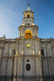 Cathedral at Main plaza, Arequipa, Peru Royalty Free Stock Photography