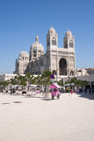 Cathedral of the Major of Marseille in France royalty free stock image