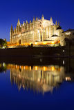 Cathedral of Majorca Balearic islands Stock Photos