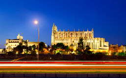 Cathedral of Majorca Balearic islands Royalty Free Stock Image