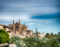 Cathedral of Majorca Royalty Free Stock Images