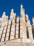 Cathedral of Majorca Royalty Free Stock Photography