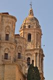 Cathedral of Malaga Stock Photos