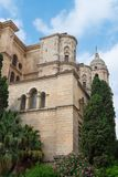 Cathedral Malaga, Andalusia, Spain. Roman Catholic church; Renaissance architecture stock photos