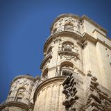 Cathedral in Malaga Royalty Free Stock Photo