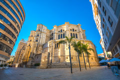 Cathedral of Malaga. Andalusia, Spain Stock Image