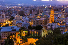 Cathedral of Malaga, Andalusia,Spain Stock Images