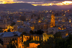 Cathedral of Malaga, Andalusia,Spain stock photos