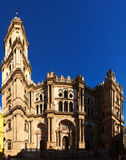 Cathedral of Malaga. Andalusia, Spain Royalty Free Stock Photo