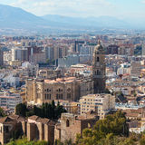 Cathedral of Malaga, Andalusia, Spain Royalty Free Stock Photo
