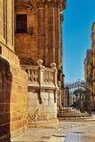 Cathedral of Malaga Basilica de la Encarnacion. Architectural Details of Cathedral of Malaga Basilica de la Encarnacion. Andalusia. Spain Stock Photography
