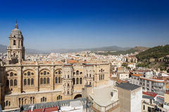 The Cathedral at Malaga Stock Photography