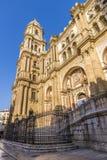 Cathedral of Malaga royalty free stock photo