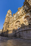 Cathedral of Malaga stock photography