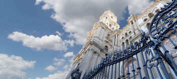 Cathedral of Malaga --is a Renaissance church in the city of Malaga, Andalusia, southern Spain Stock Photos