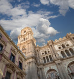Cathedral of Malaga --is a Renaissance church in the city of Malaga, Andalusia, southern Spain Stock Image