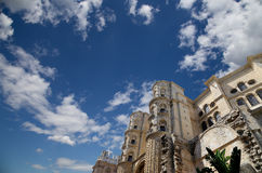 Cathedral of Malaga-- is a Renaissance church in the city of Malaga, Andalusia, southern Spain Stock Image