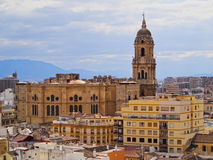 Cathedral in Malaga, Spain Stock Image