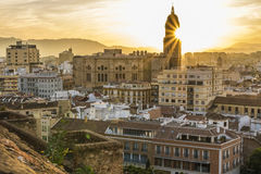 Cathedral of Malaga, Spain. Malaga is a municipality, capital of the Province of Málaga, in the Autonomous Community of Andalusia, Spain Stock Photo