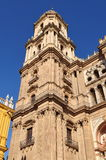 Cathedral Malaga Spain Royalty Free Stock Photography