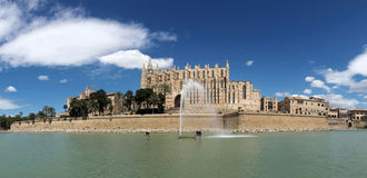 cathedral of Mallorca Royalty Free Stock Image