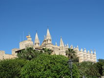 Cathedral of Mallorca Stock Photo