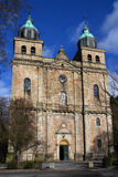 Cathedral of Malmedy Stock Image