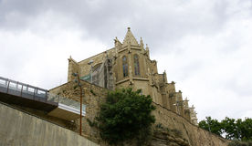 Cathedral of Manresa Stock Image