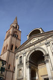 Cathedral in Mantova Royalty Free Stock Photos