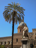 Cathedral Maria Santissima Assuanta of Palermo in Sicily Royalty Free Stock Photography