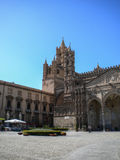 Cathedral Maria Santissima Assuanta of Palermo in Sicily Royalty Free Stock Photos
