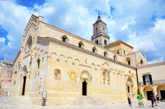 Cathedral Maria SS of bruna and sant`eustachio Stock Images