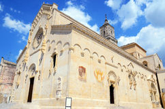 Cathedral Maria SS of bruna and sant`eustachio Stock Image