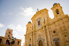 Cathedral of Marsala, Sicily Stock Images