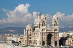 Cathedral of Marseilles Royalty Free Stock Photo