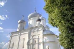 Cathedral of Martyr Nikita. Nikitsky Monastery. Pereslavl, Russia Stock Images