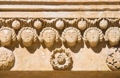 Cathedral of Matera. Basilicata. Italy. Royalty Free Stock Images