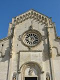 The cathedral of Matera in Italy Royalty Free Stock Image