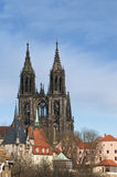 The cathedral of Meissen, Germany Stock Image