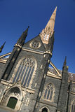 Cathedral in Melbourne. Beautiful St Patrick's Cathedral building in Melbourne CBD, Victoria, Australia royalty free stock image