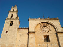Cathedral in Merida Royalty Free Stock Photo