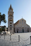 Cathedral of Messina royalty free stock photos